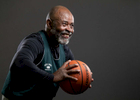 Senior basketball player Herb Ballard aged seventy six, poses for a portrait during the Huntsman World Senior Games on October 11, 2019 in St. George, Utah.