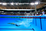 Thiago Rosa of Brazil starts the Men's 100m freestyle heats during the Maria Lenk Trophy competition at the Aquece Rio Test Event for the Rio 2016 Olympics at the Olympic Park on April 18, 2016 in Rio de Janeiro, Brazil.