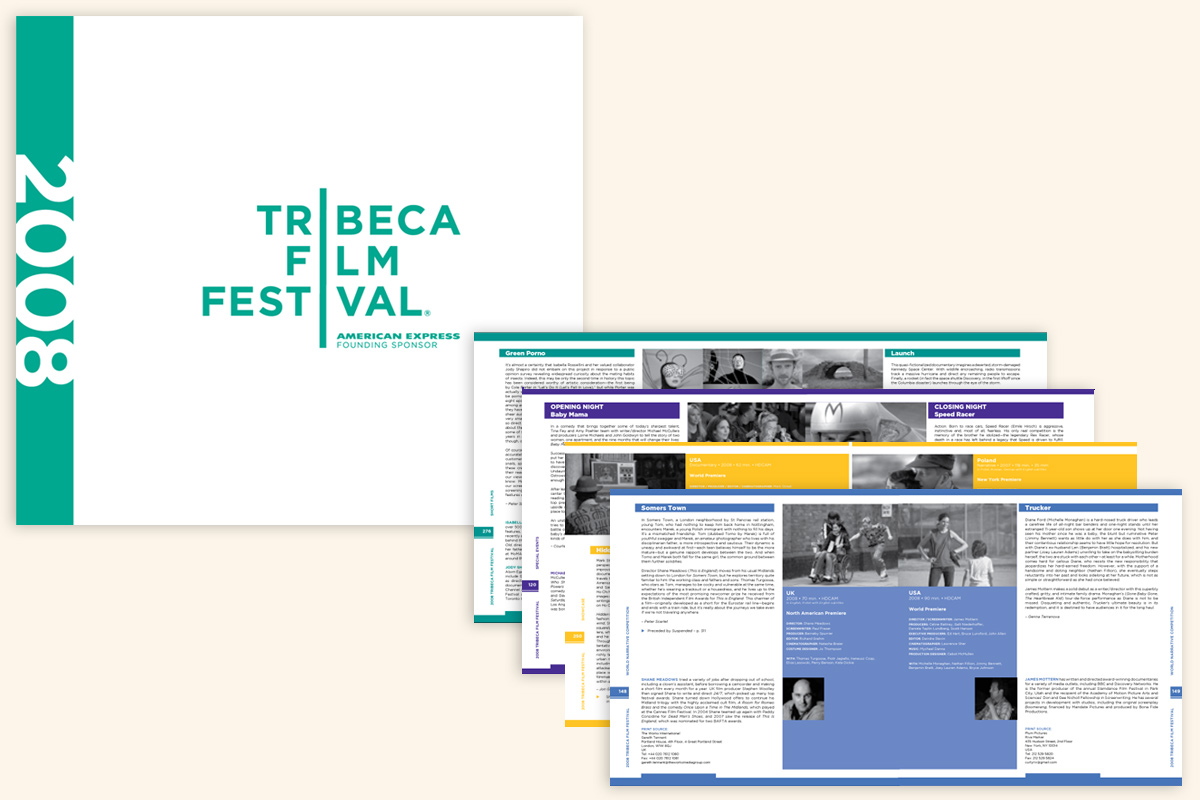 Festival Catalog