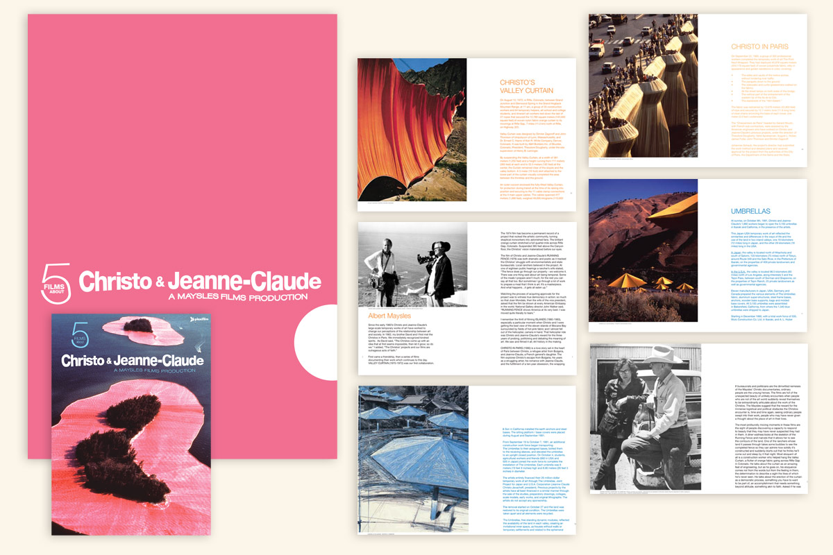 5 Films About Christo & Jeanne-Claude