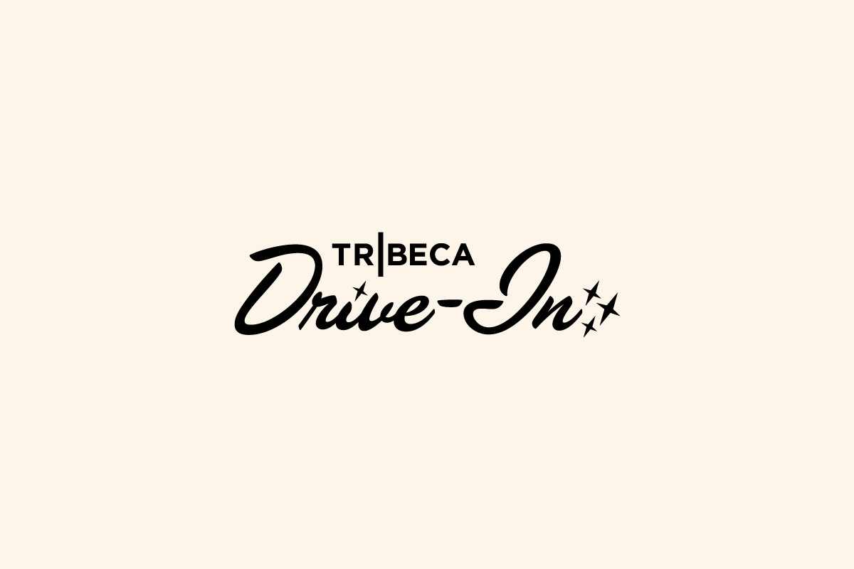 Logo for the Tribeca Drive-In