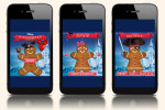 Mobile Holiday Greeting card game from Disney and Shazam.