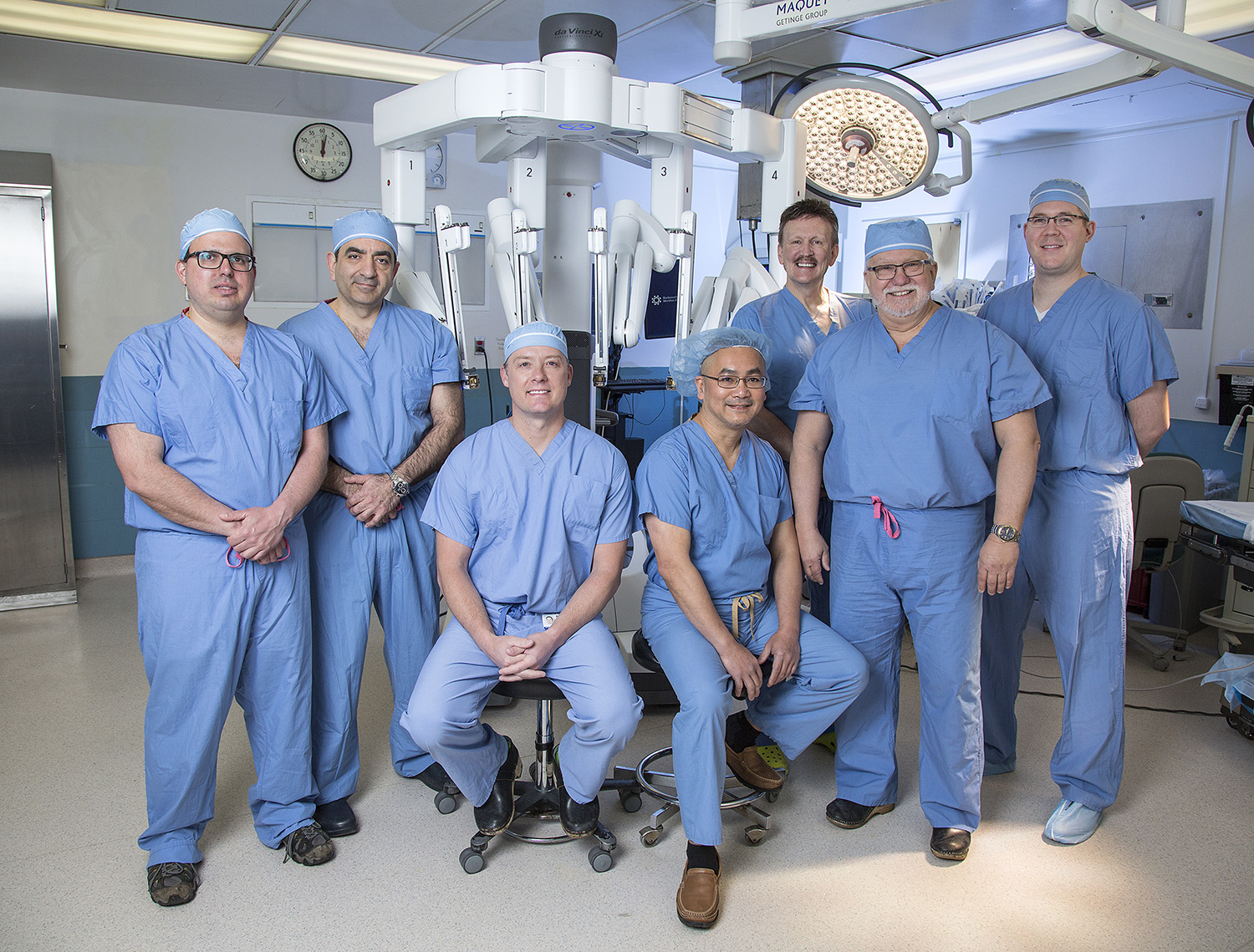 Riverview Medical Center Robotic Surgery Team
