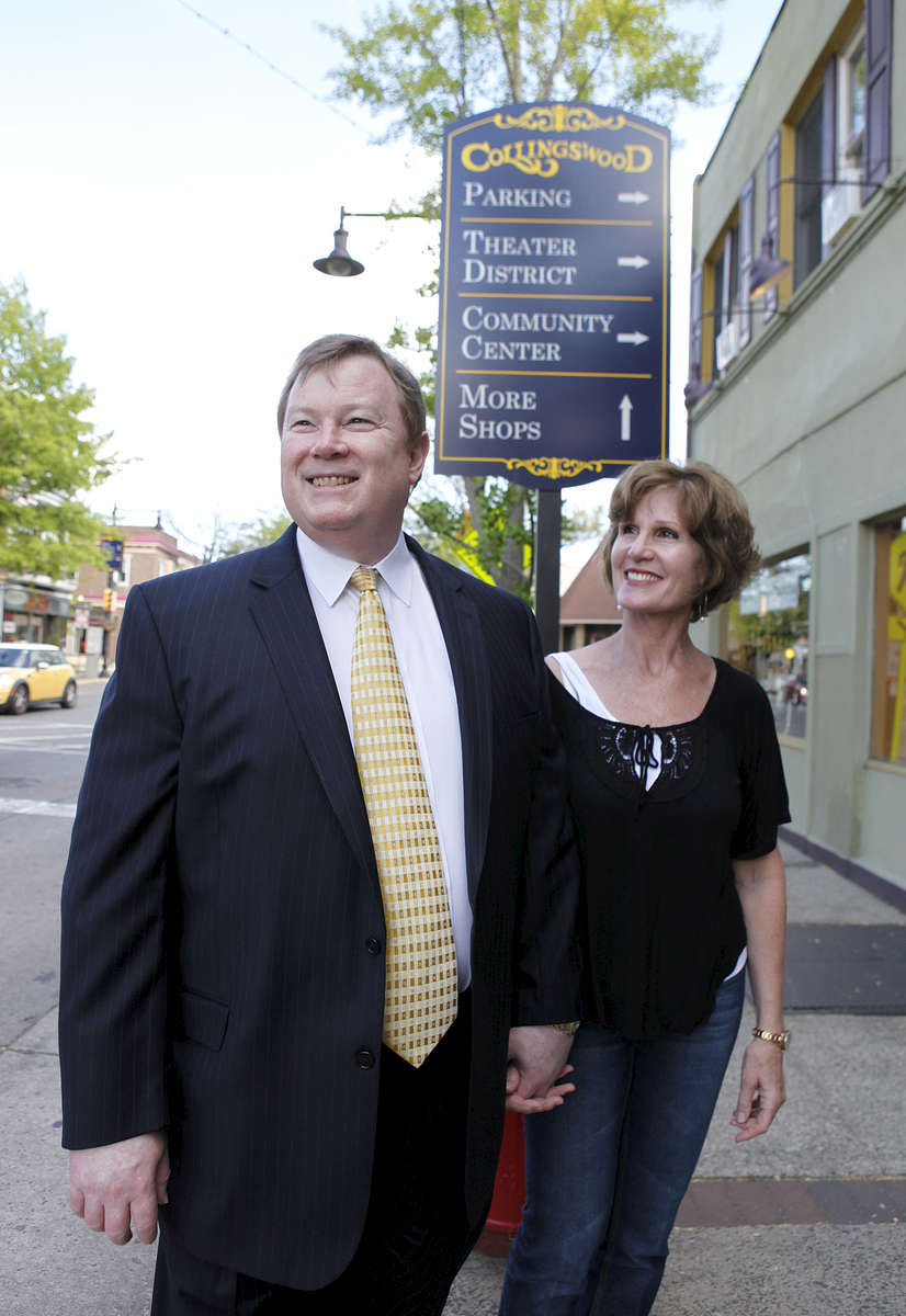 Pat & Tom Kelly bought a townhome near the train station at the Lumberyard Condos in Collingswood, New Jersey where Tom commutes to work in Philadelphia. CREDIT: Bill Denver for the Wall Street Journal.{quote}TRANSIT- Lumberyard Condos{quote}