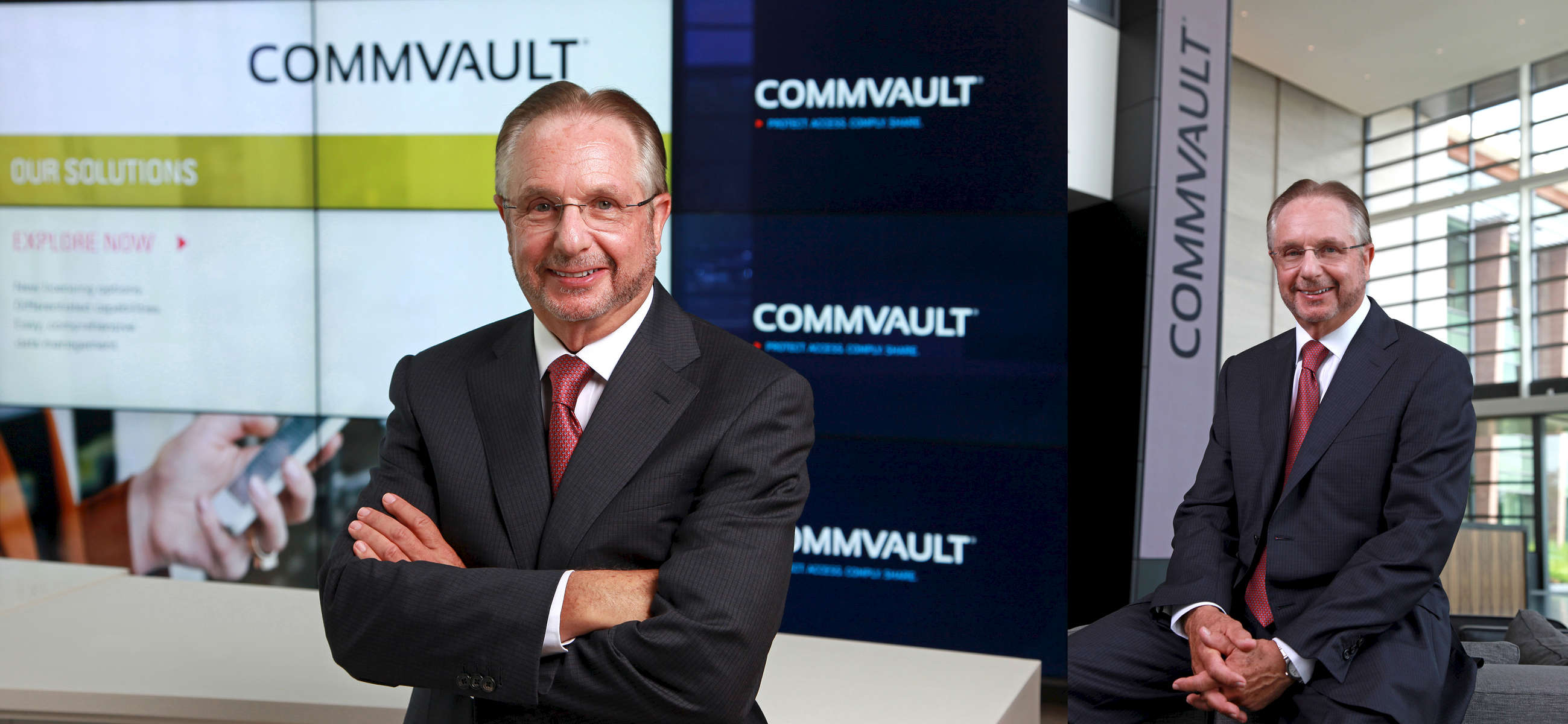 Robert Hammer CEO of CommVault