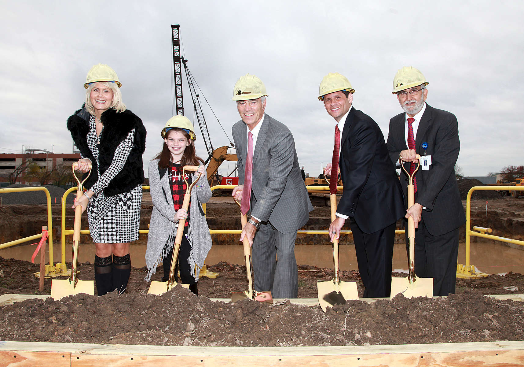 Jersey Shore Medical Center Hope Tower Ground Breaking Ceremony.