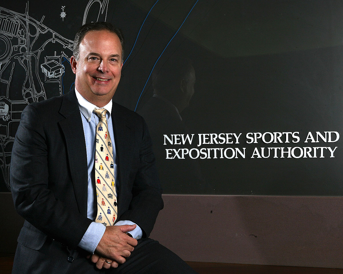 Dennis Robinson, CEO of the New Jersey Sports & Expostion Authority