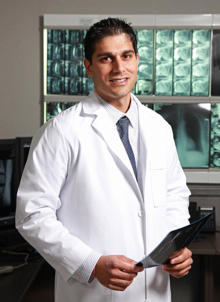 Environmental Doctor Portrait, Physician Workstyle Portrait
