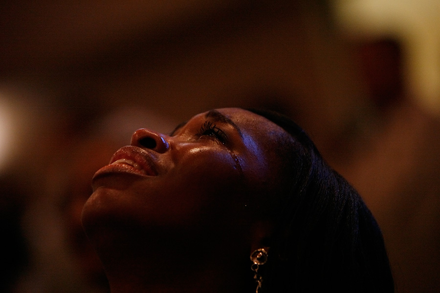 Sunday church prayer