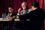 eugene mirman, alan alda and neil degrasse tyson