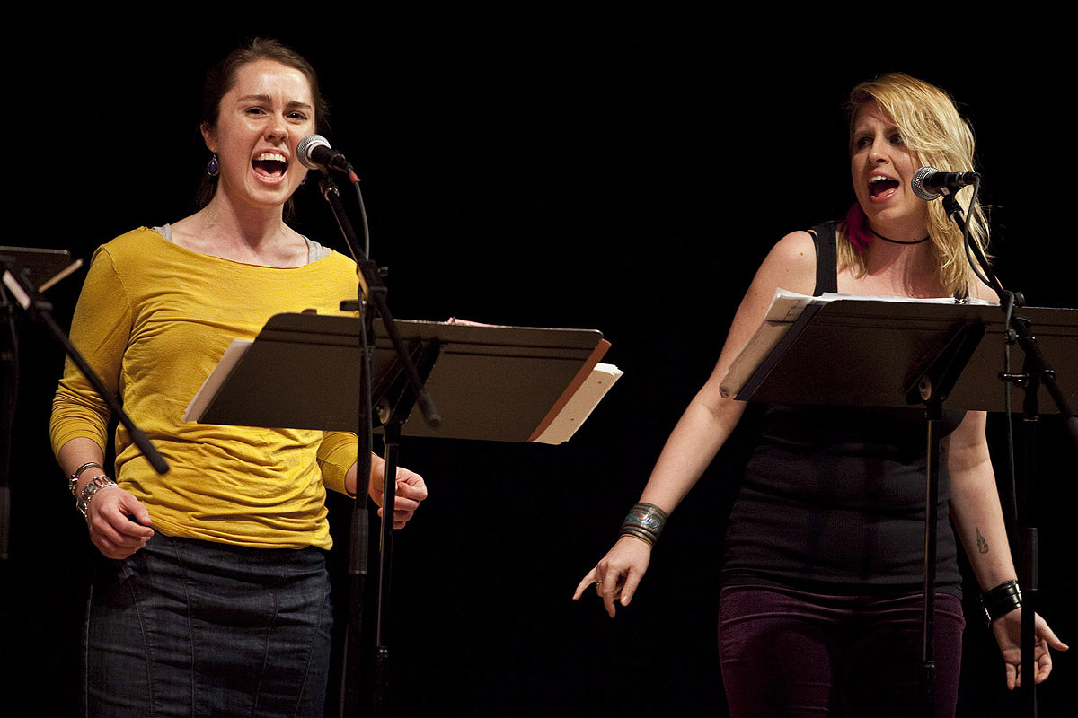 caroline shaw & virginia warnken (roomful of teeth)