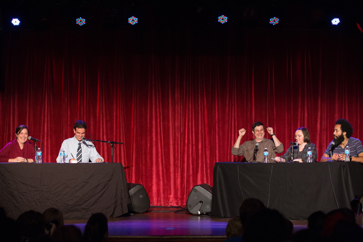 you're the expert podcast w/ chris duffy, katie hinde, eugene mirman, sarah vowell, and wyatt cynac