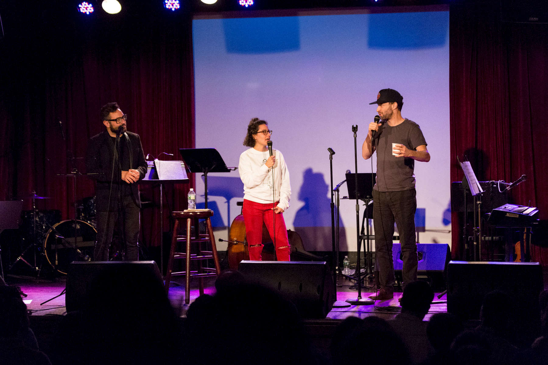 eliot glazer, jon glaser, and ilana glazer