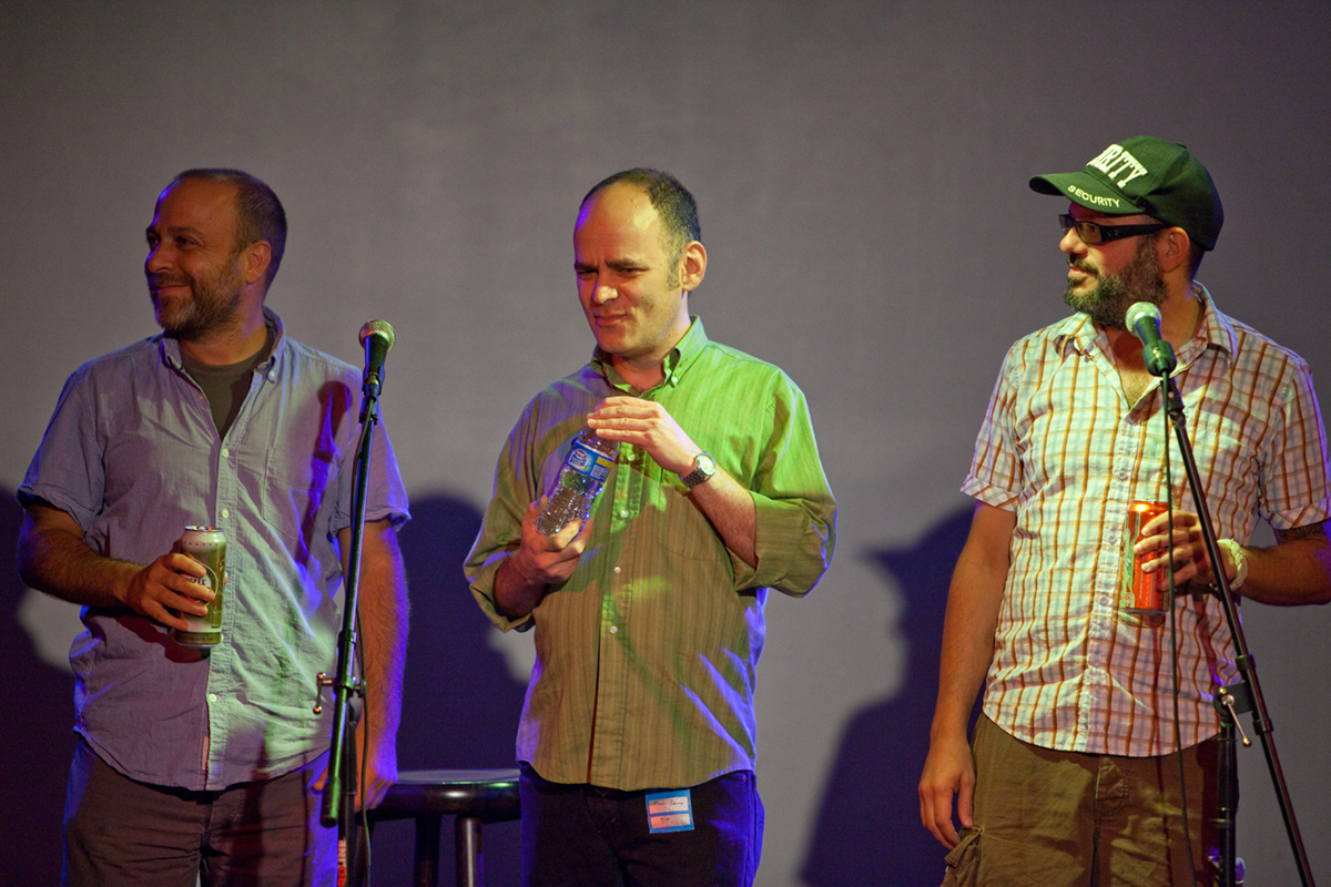 jon benjamin, todd barry & david cross