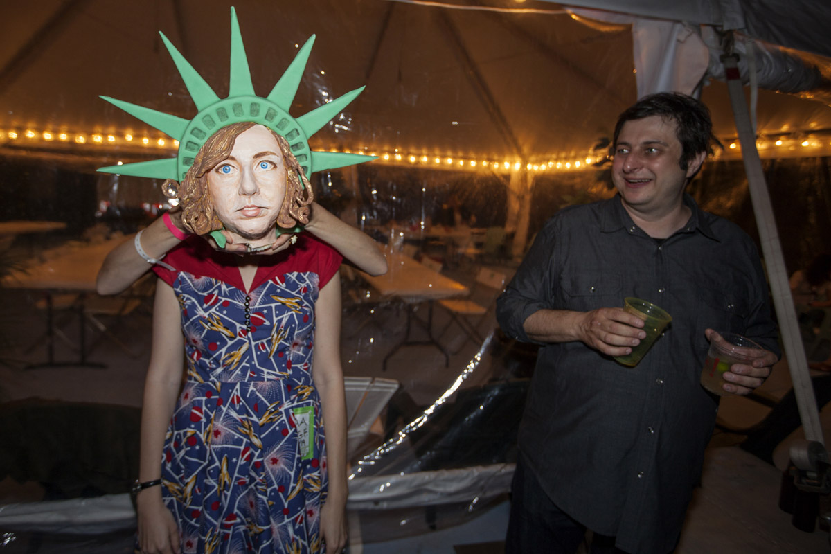 schaal cake head and eugene mirman