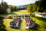Eve Event Photography finds a unique perspective to capture this Crisanver House ceremony from above.