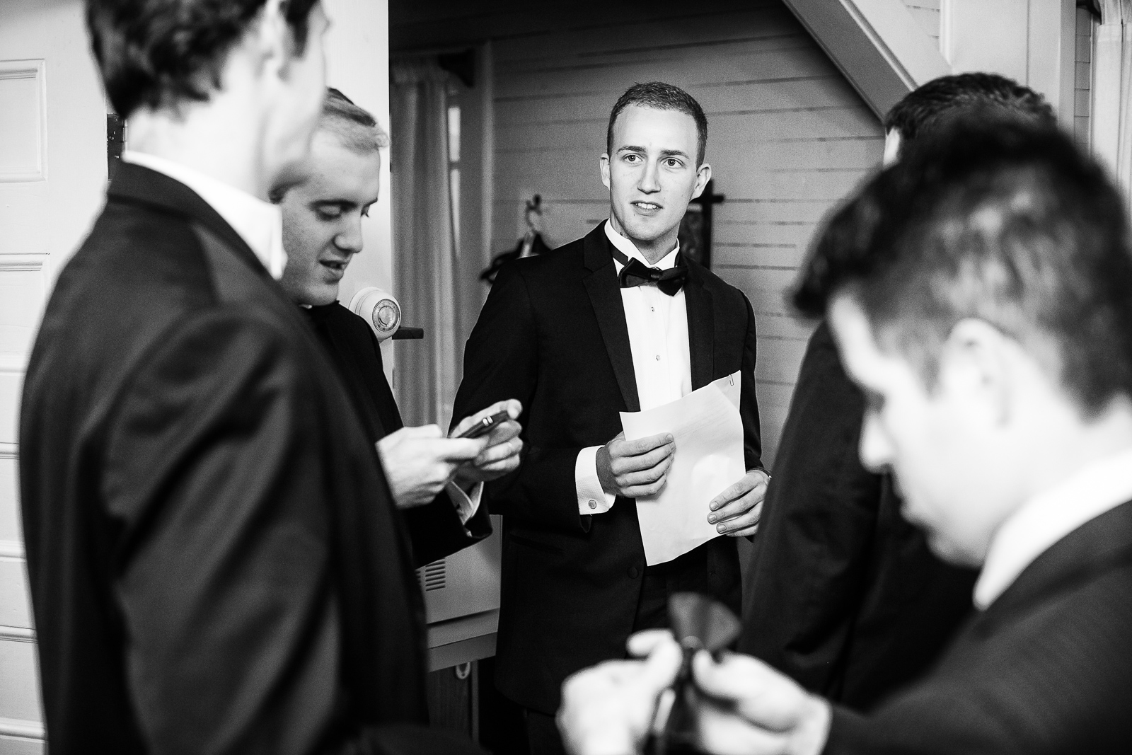 Barbara and Zac are wed at White Pine Camp, Paul Smiths College, New York. by Vermont wedding photographers Eve Event Photography