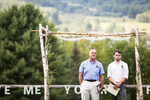 Wedding at Ohana Camp, Vermont. By Vermont wedding photographers Eve Event Photography