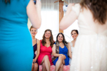getting ready at Grand Isle Lake House. by Vermont wedding photographers at Eve Event Photography