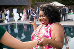 Kit and Keoki are wed at Mountain Top Inn, by wedding photographers eve event photo