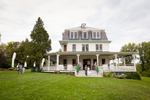 Emma and Megan are wed at Grand Isle Lake House in Vermont. by Vermont wedding photographers at Eve Event Photography