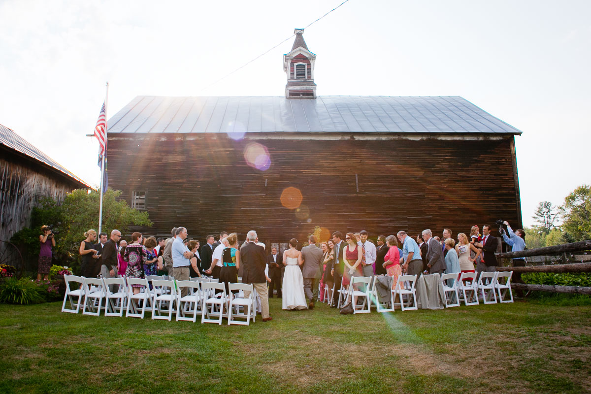Karen and Joe are wed in Newbury, Vermont. Wedding by Eve Event Photography