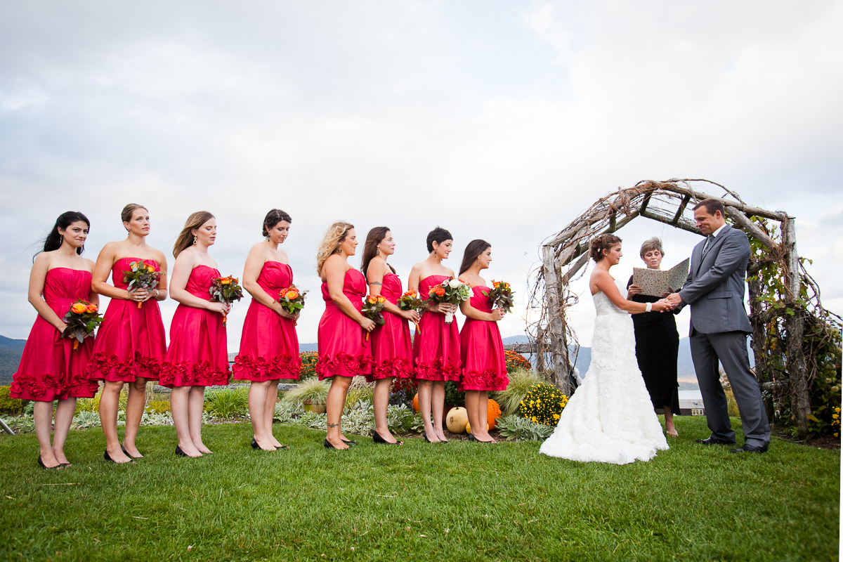 KC and Alex wed at Mountain Top Inn near Rutland. by Vermont wedding photographers at Eve Event Photography