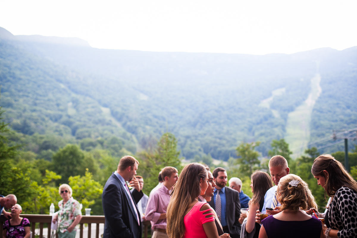 Stowe wedding by Vermont wedding photographers at Eve Event Photography