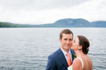 New York Lake Champlain wedding by Eve Event Photography