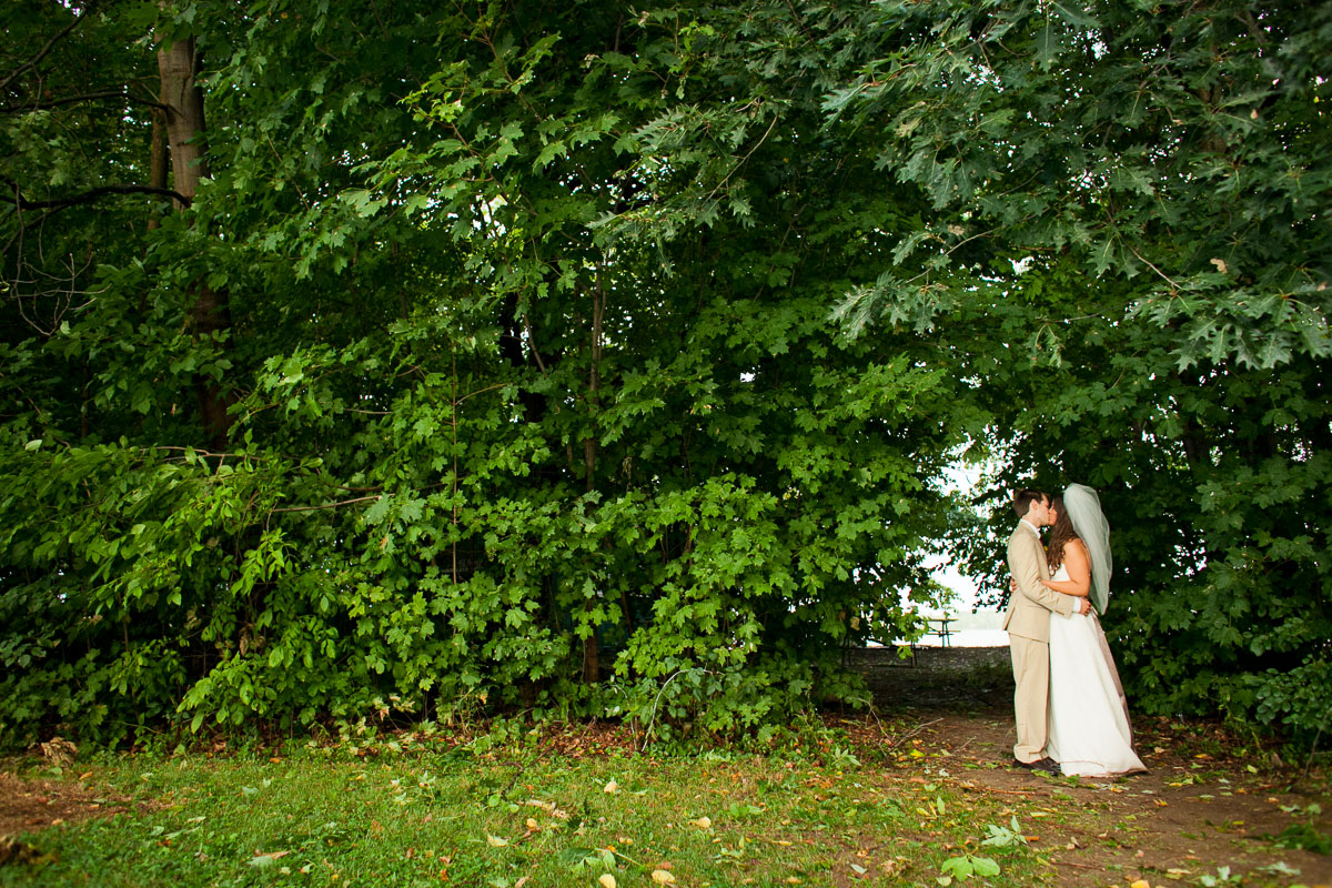 Lindsay and Will are wed at Camp Abnaki in North Hero, Vermont. by Eve Event Photography