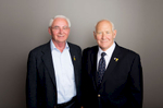 Jack Moon and David Guttman, co-founders of Bladder Cancer Canada.