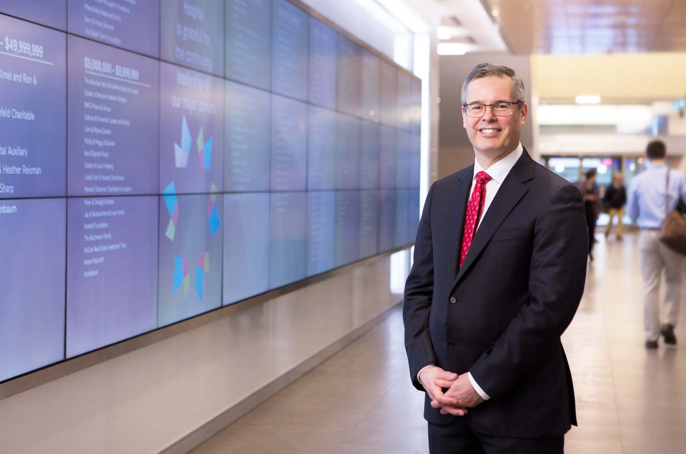 Louis de Melo, the new CEO at the Sinai Health Foundation.