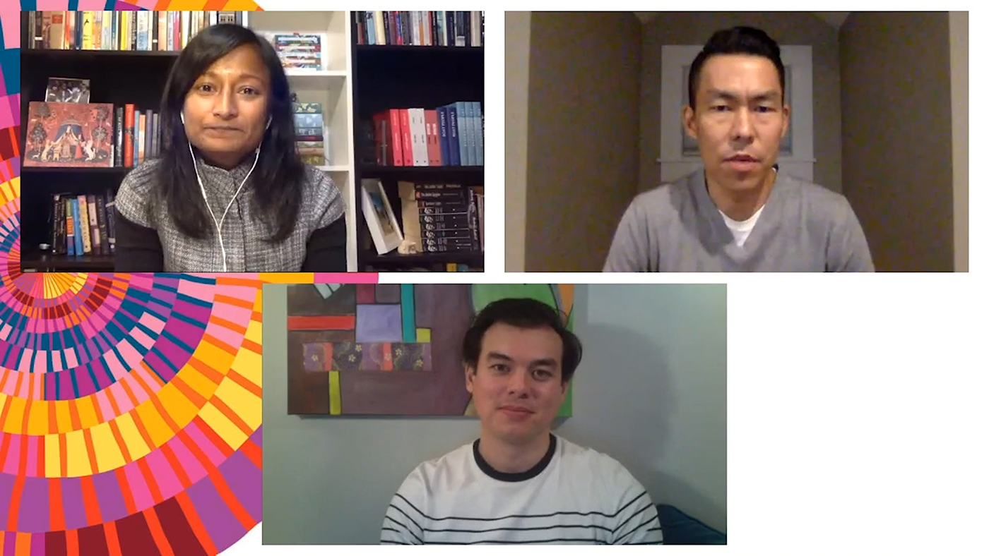 Client: Toronto International Festival of AuthorsJack Wang and Marc Herman LynchInterviewer: Sharon BalaMarc Herman Lynch and Jack Wang discuss in their debut works that examine the experience of immigrants.Forty-five minute conversation and Q and A.