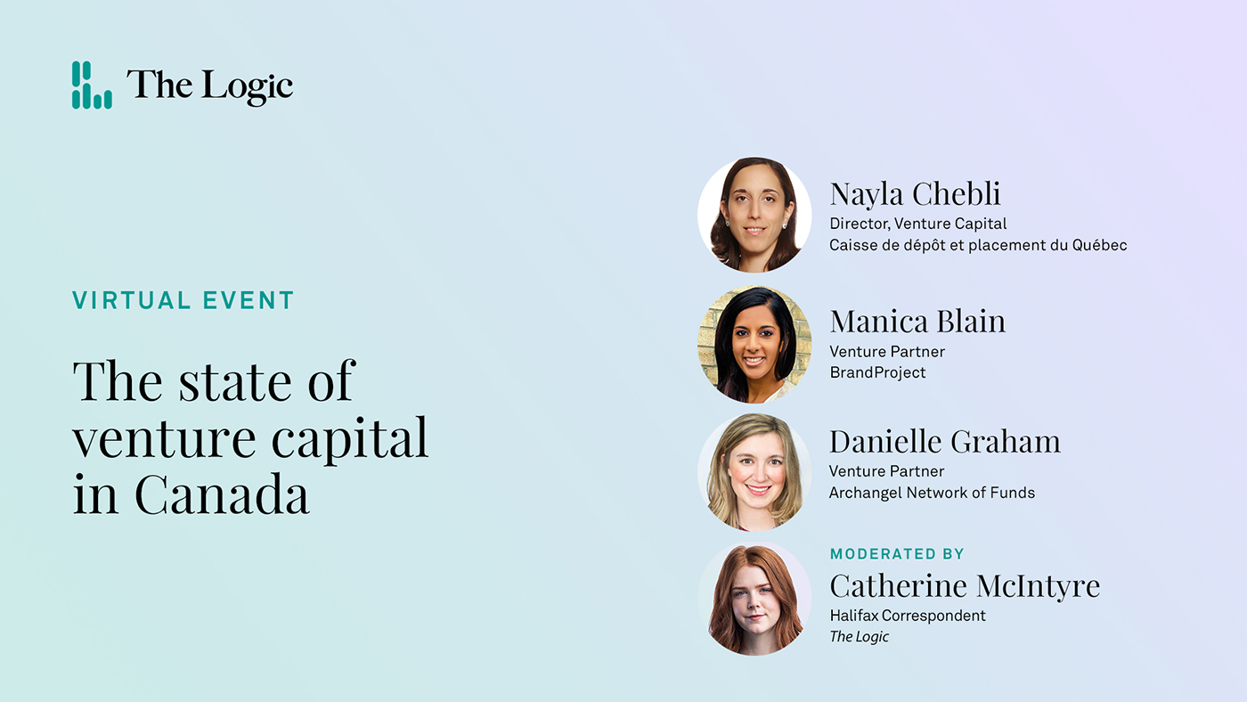 A recorded livestreamed video of a panel on the state of venture capital in Canada.
