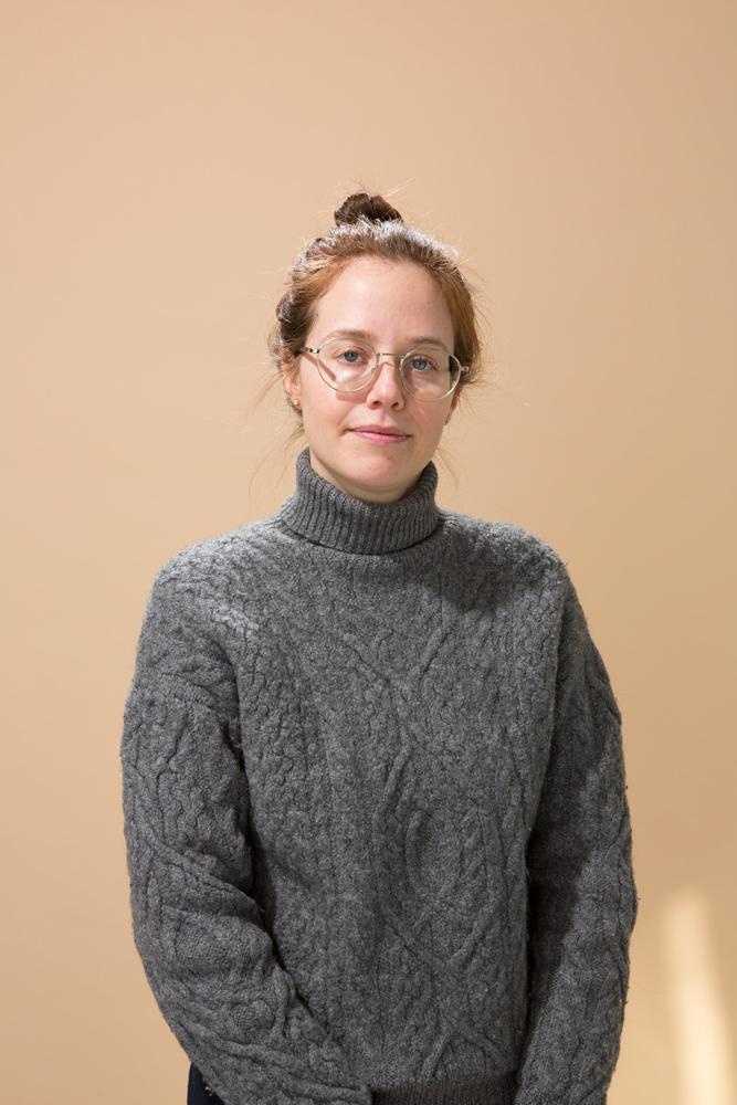 Angela Shackel, sound artist, 2019.