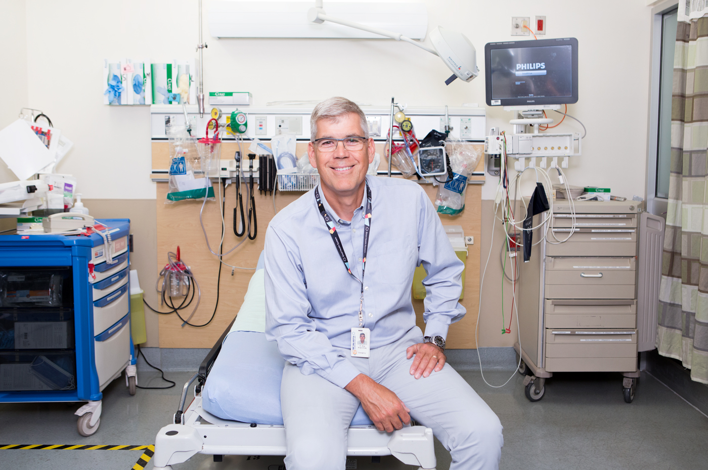 Dr. Bjug Borgundvaag for Sinai Health.