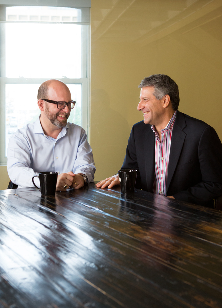 Dr. Wunder and Tony for Mt. Sinai's The Best Medicine Matters magazine.