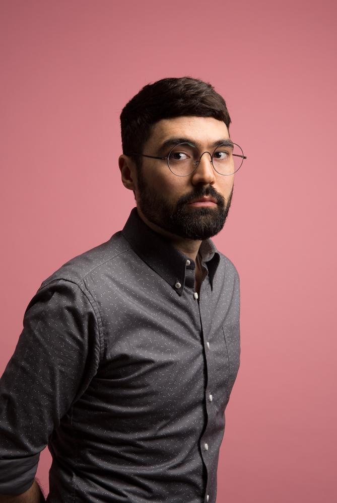 Frank Maidens, designer, 2018.