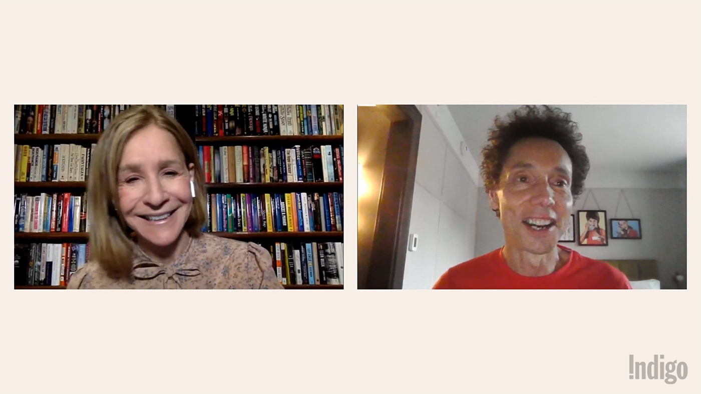 A recorded livestreamed video of Malcolm Gladwell talking to Heather Reisman about his book The Bomber Mafia.