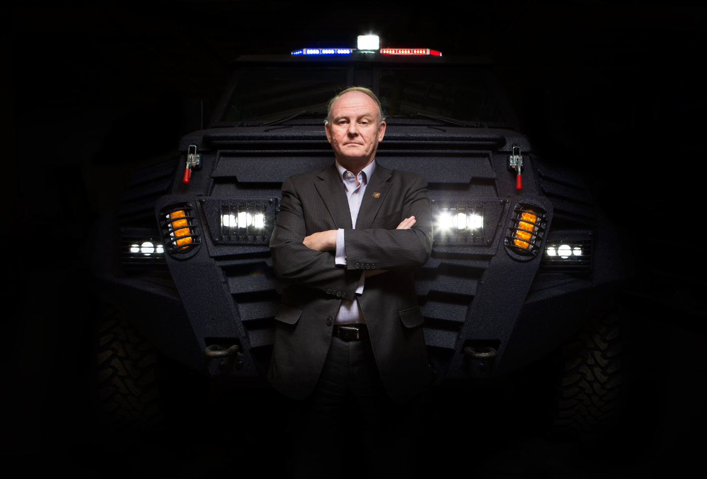 David Fraser, chief operating officer at INKAS Armored Vehicle Manufacturing, for Manufacturing Automation magazine.