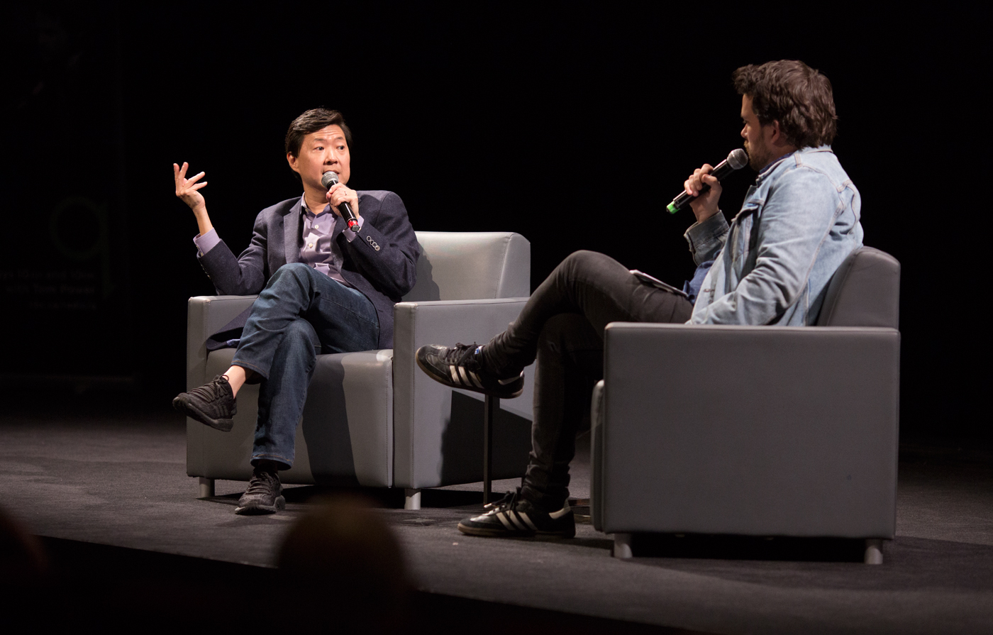 Ken Jeong In Conversation with Tom Power at the TIFF Bell Lightbox for Just For Laughs 42.
