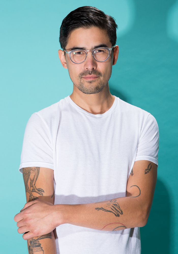 Mitchell Akiyama, scholar, composer and artist, 2018.
