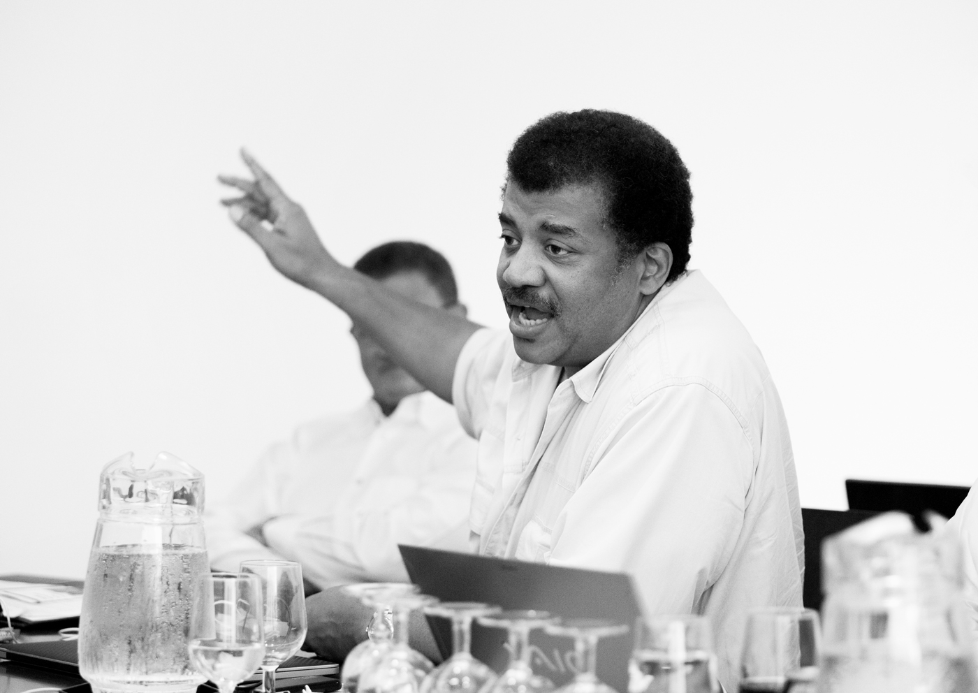 Neil deGrasse Tyson at The Planetary Society board of directors meeting.