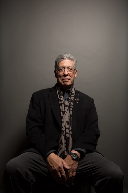 Thomas King, author of Green Grass, Running Water and more recently, The Inconvenient Indian: A Curious Account of Native People in North America. He also wrote and starred in The Dead Dog Café Comedy Hour.