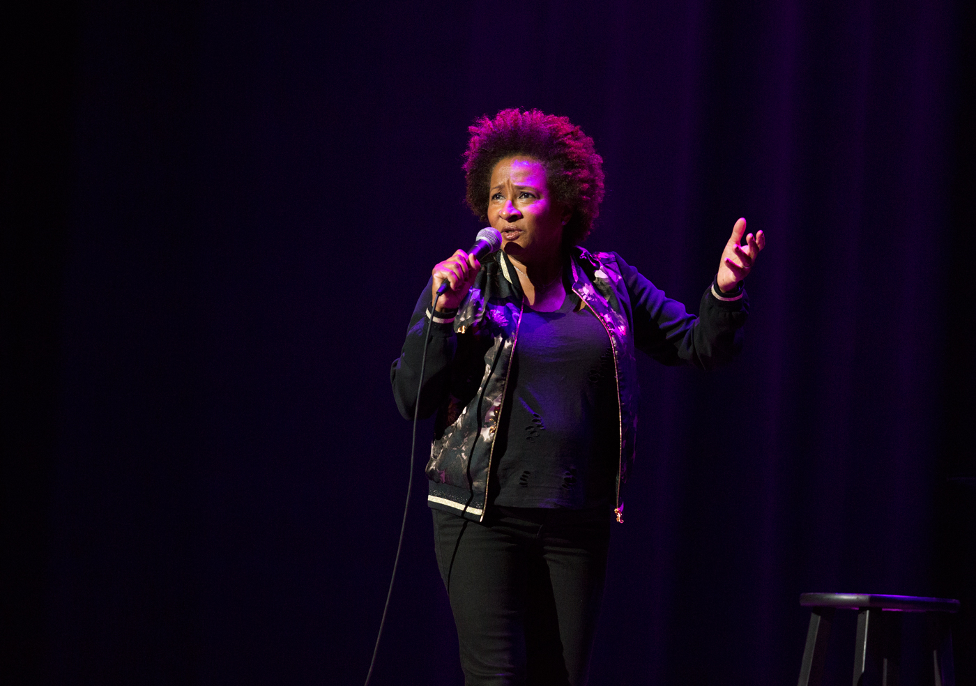 Wanda Sykes at the Sony Centre.