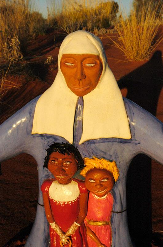 Australia, Uluru. Aboriginal oral history. Stolen generations