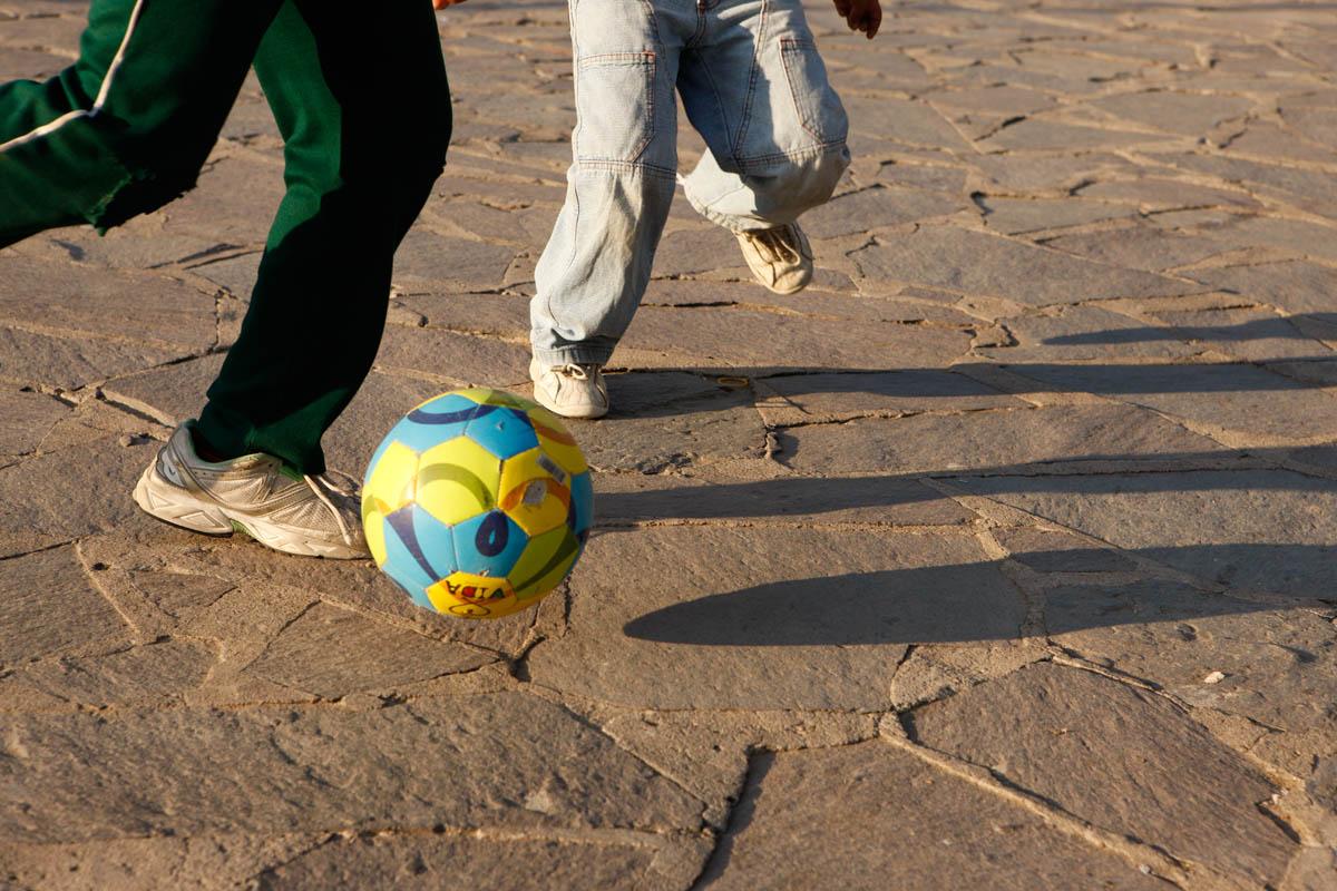 Chicos y Futbol