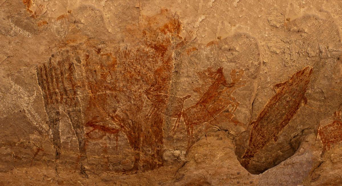 Panorama Cueva de la Cuesta del Palmarito
