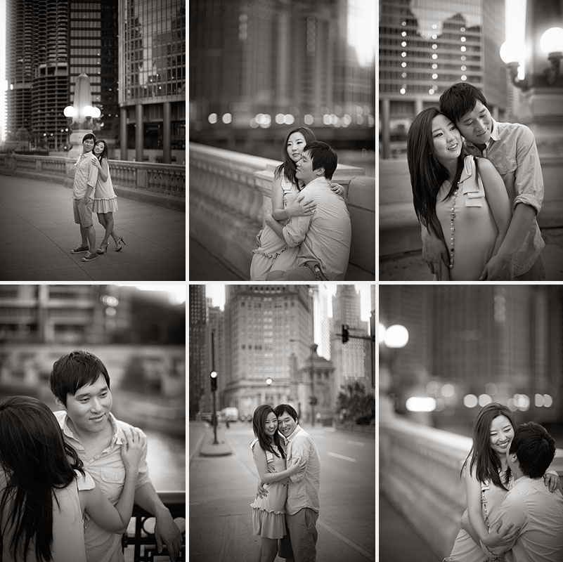 Downtown-Chicago-Summer-Asian-Korean-Engagement-Session-04