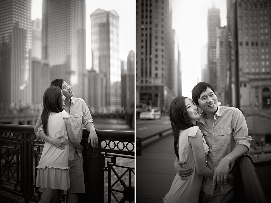 Downtown-Chicago-Summer-Asian-Korean-Engagement-Session-06